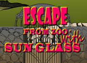 Escape-From-Zoo-with-Sunglass