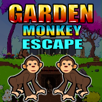 Garden-monkey-escape